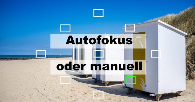 """Illustration zu """"Autofokus oder manuell"""""""